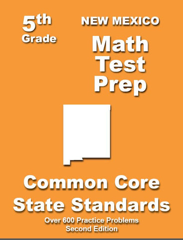 5th Grade New Mexico Common Core Math - TeachersTreasures.com