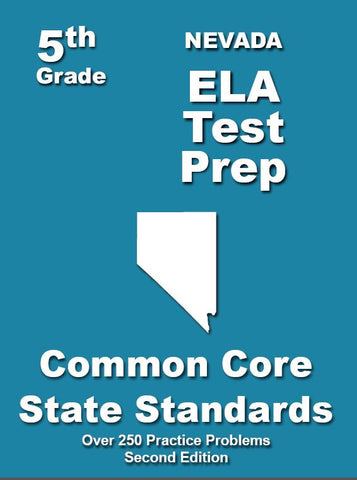 5th Grade Nevada Common Core ELA - TeachersTreasures.com