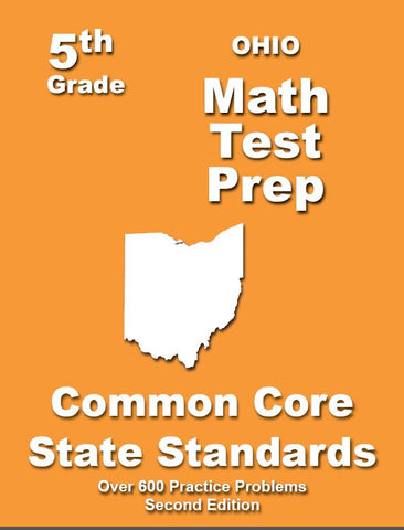 5th Grade Ohio Common Core Math - TeachersTreasures.com