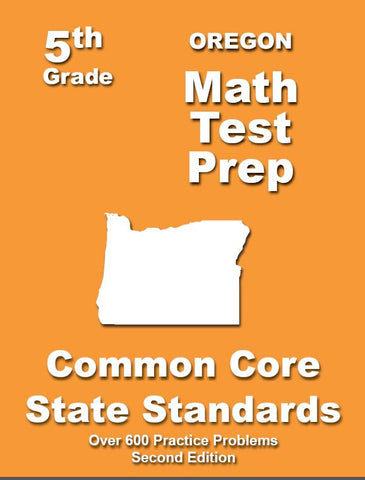 5th Grade Oregon Common Core Math - TeachersTreasures.com