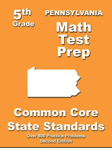 5th Grade Pennsylvania Common Core Math - TeachersTreasures.com