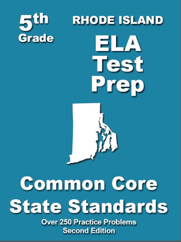 5th Grade Rhode Island Common Core ELA - TeachersTreasures.com