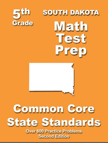5th Grade South Dakota Common Core Math - TeachersTreasures.com