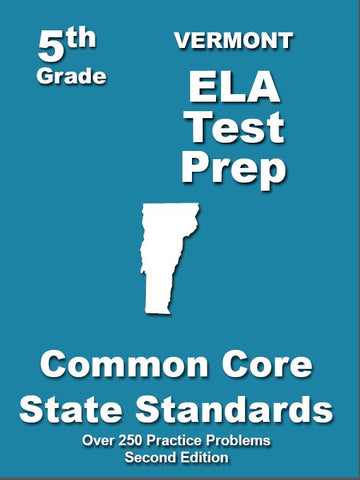 5th Grade Vermont Common Core ELA - TeachersTreasures.com