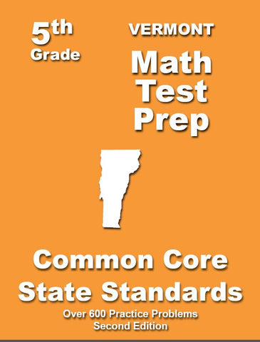 5th Grade Vermont Common Core Math - TeachersTreasures.com