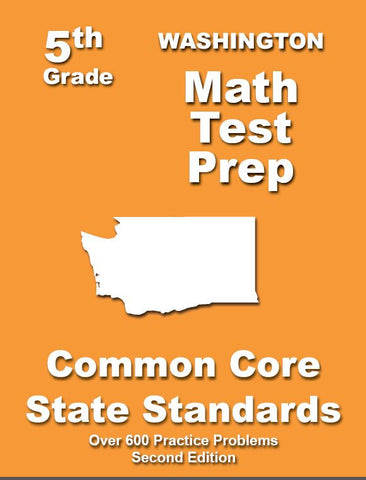 5th Grade Washington Common Core Math - TeachersTreasures.com