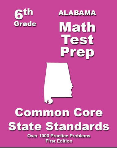 6th Grade Alabama Common Core Math - TeachersTreasures.com