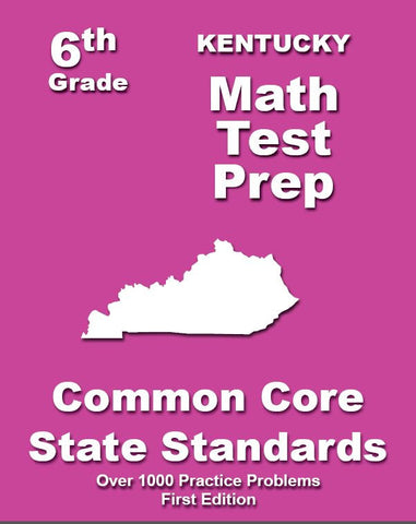 6th Grade Kentucky Common Core Math - TeachersTreasures.com