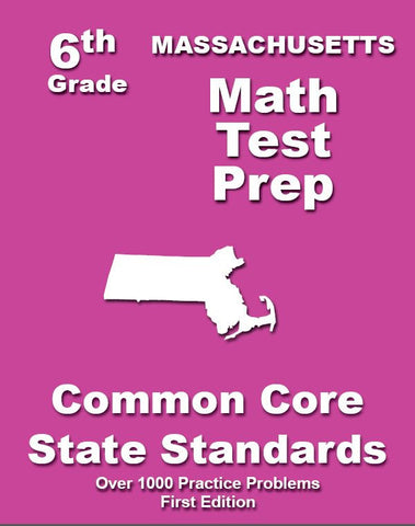 6th Grade Massachusetts Common Core Math - TeachersTreasures.com