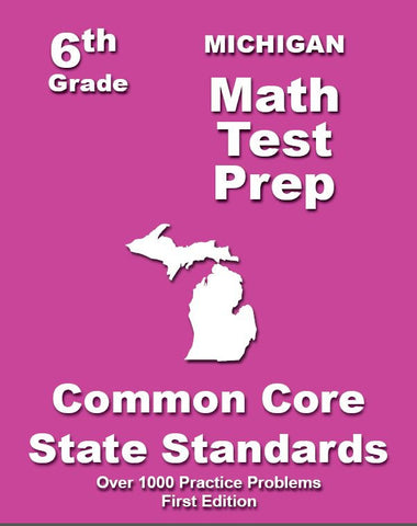 6th Grade Michigan Common Core Math - TeachersTreasures.com