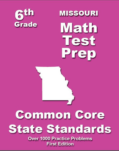 6th Grade Missouri Common Core Math - TeachersTreasures.com