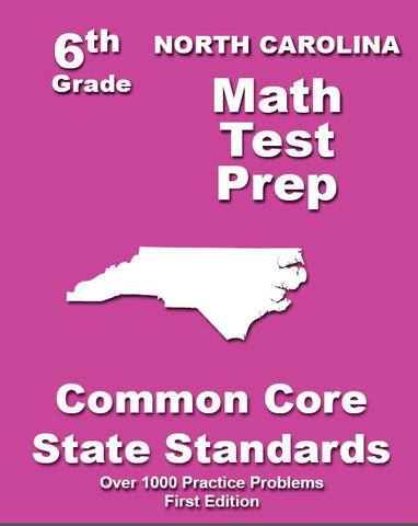 6th Grade North Carolina Common Core Math - TeachersTreasures.com