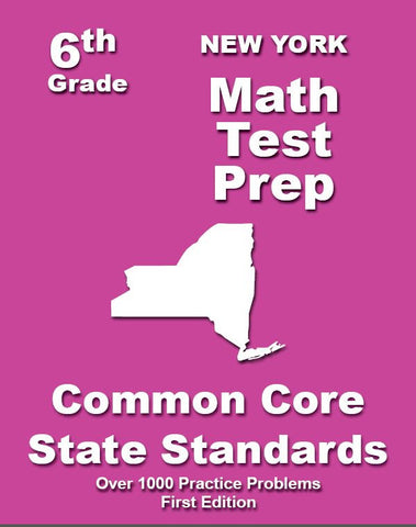 6th Grade New York Common Core Math - TeachersTreasures.com
