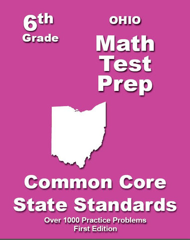 6th Grade Ohio Common Core Math - TeachersTreasures.com