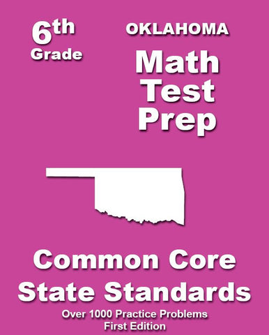 6th Grade Oklahoma Common Core Math - TeachersTreasures.com