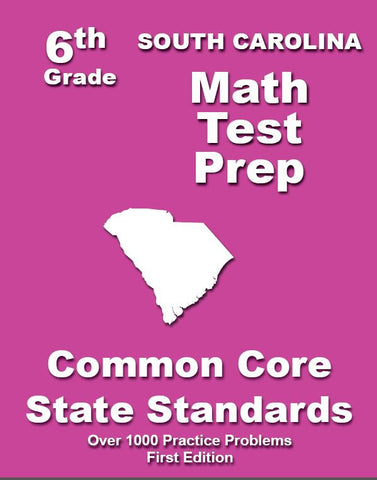 6th Grade South Carolina Common Core Math - TeachersTreasures.com
