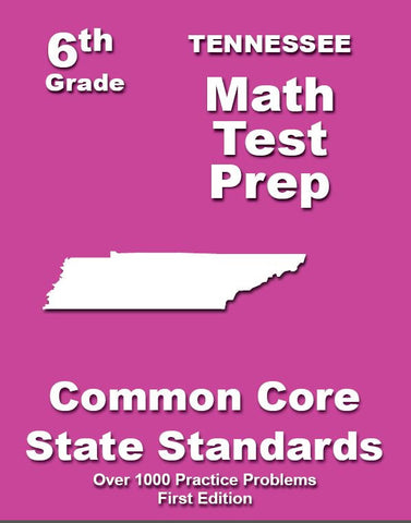 6th Grade Tennessee Common Core Math - TeachersTreasures.com