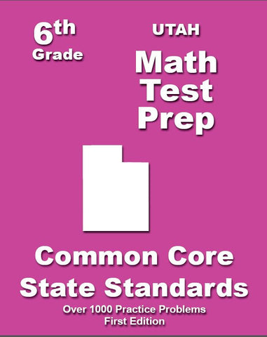 6th Grade Utah Common Core Math - TeachersTreasures.com
