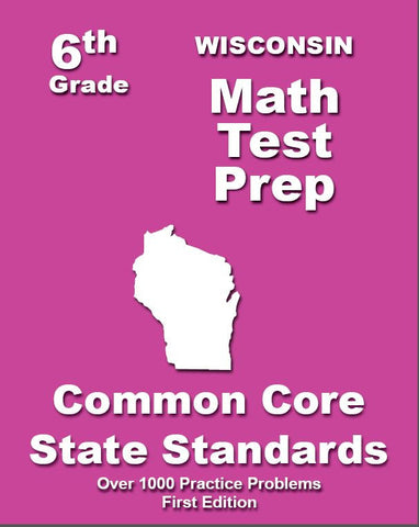6th Grade Wisconsin Common Core Math - TeachersTreasures.com