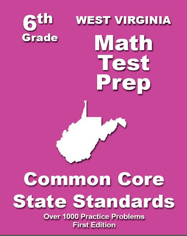 6th Grade West Virginia Common Core Math - TeachersTreasures.com