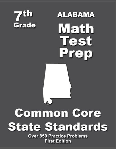7th Grade Alabama Common Core Math - TeachersTreasures.com