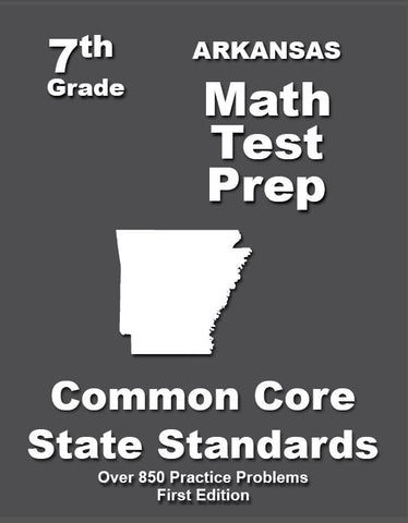 7th Grade Arkansas Common Core Math - TeachersTreasures.com