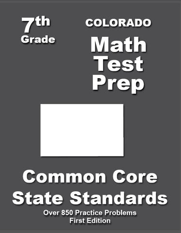 7th Grade Colorado Common Core Math - TeachersTreasures.com