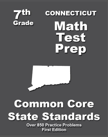 7th Grade Connecticut Common Core Math - TeachersTreasures.com