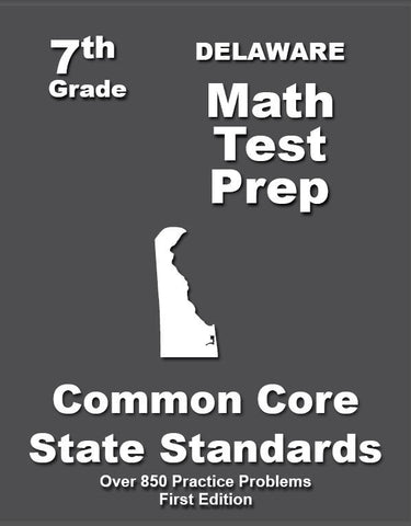 7th Grade Delaware Common Core Math - TeachersTreasures.com