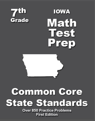7th Grade Iowa Common Core Math - TeachersTreasures.com