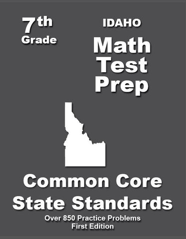 7th Grade Idaho Common Core Math - TeachersTreasures.com