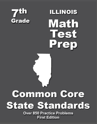 7th Grade Illinois Common Core Math - TeachersTreasures.com