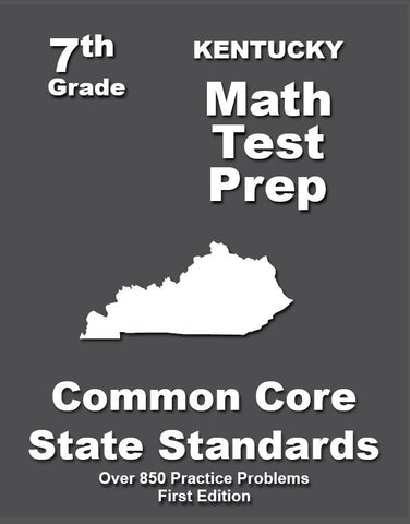 7th Grade Kentucky Common Core Math - TeachersTreasures.com