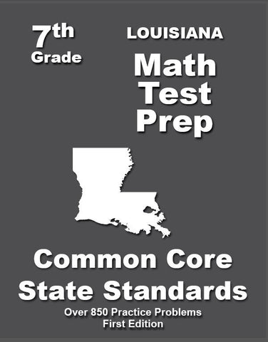 7th Grade Louisiana Common Core Math - TeachersTreasures.com