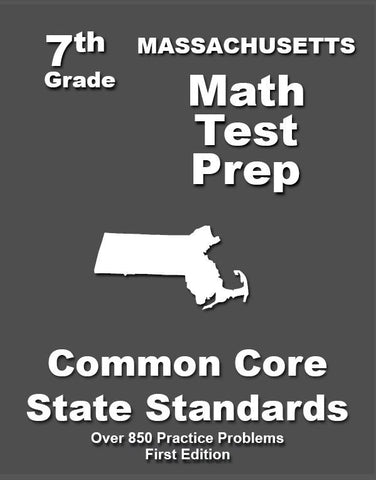 7th Grade Massachusetts Common Core Math - TeachersTreasures.com