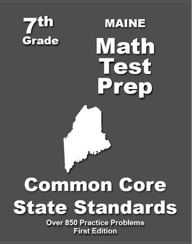 7th Grade Maine Common Core Math - TeachersTreasures.com
