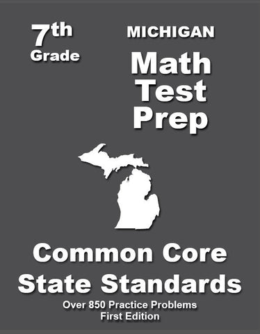 7th Grade Michigan Common Core Math - TeachersTreasures.com