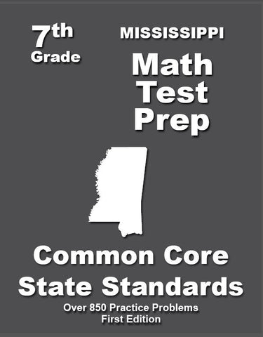 7th Grade Mississippi Common Core Math - TeachersTreasures.com