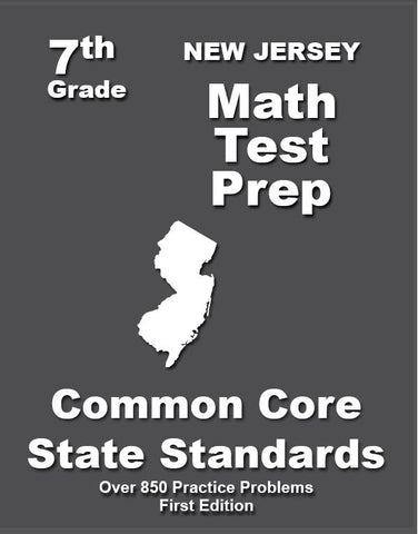 7th Grade New Jersey Common Core Math - TeachersTreasures.com
