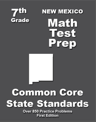 7th Grade New Mexico Common Core Math - TeachersTreasures.com