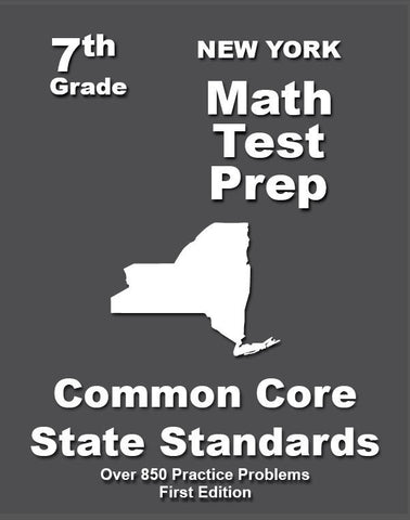 7th Grade New York Common Core Math - TeachersTreasures.com