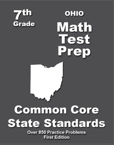 7th Grade Ohio Common Core Math - TeachersTreasures.com