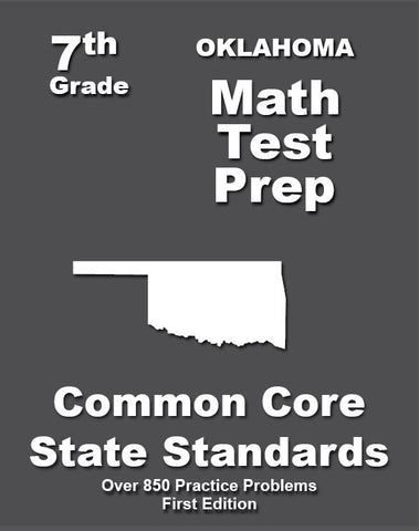 7th Grade Oklahoma Common Core Math - TeachersTreasures.com