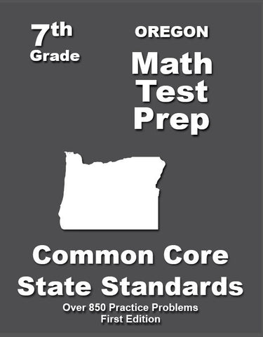 7th Grade Oregon Common Core Math - TeachersTreasures.com