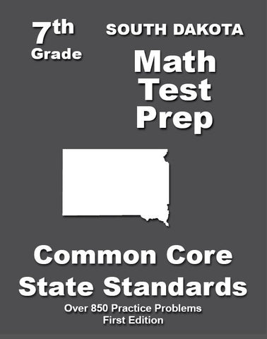 7th Grade South Dakota Common Core Math - TeachersTreasures.com