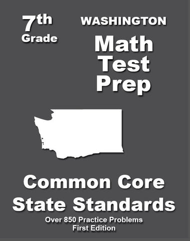 7th Grade Washington Common Core Math - TeachersTreasures.com