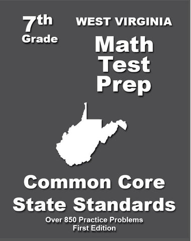 7th Grade West Virginia Common Core Math - TeachersTreasures.com