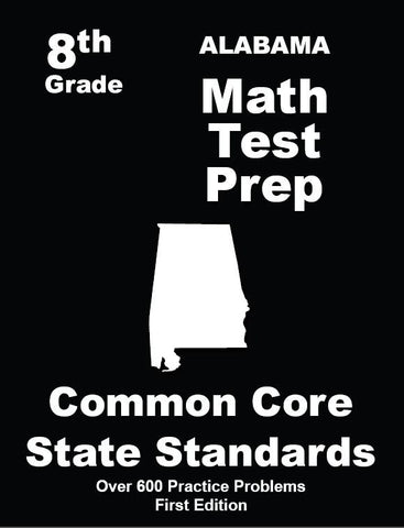 8th Grade Alabama Common Core Math - TeachersTreasures.com