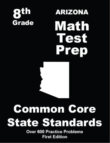 8th Grade Arizona Common Core Math - TeachersTreasures.com