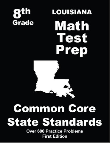 8th Grade Louisiana Common Core Math - TeachersTreasures.com